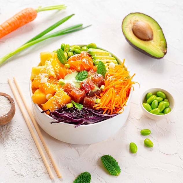 Poke Bowl au Saumon