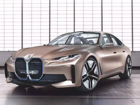 On a craqué sur le BMW Concept i4