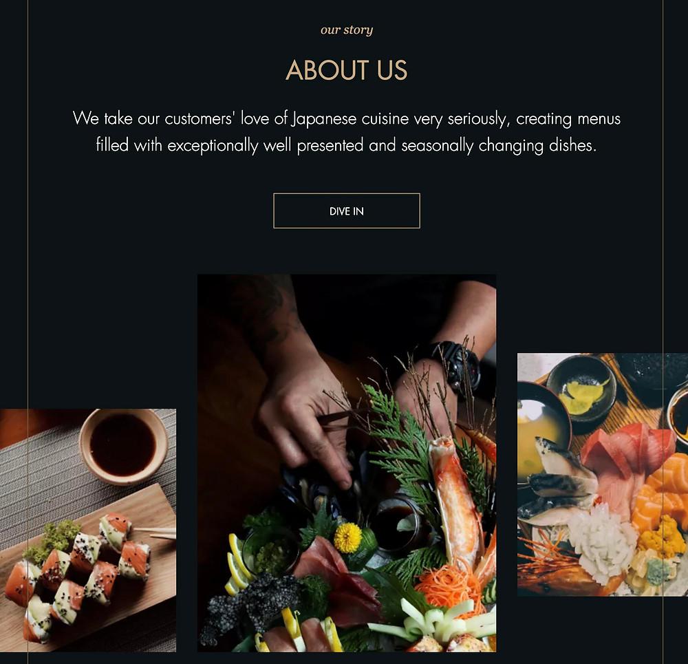 editor x site restaurant