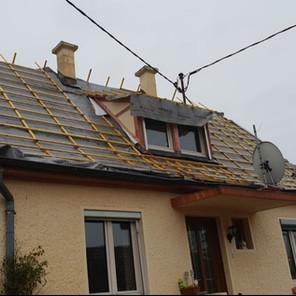 remaniement de toiture