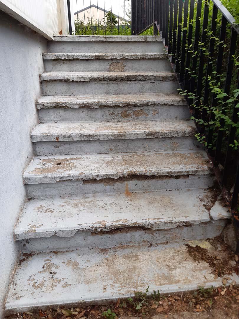 rénovation peinture escalier
