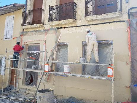rénover sa façade enduit dans le 31