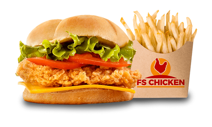restaurant poulet frit 95