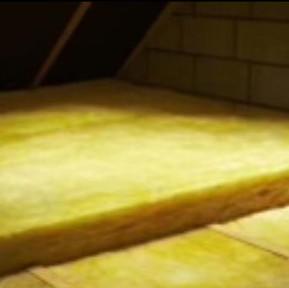 isolation de combles à la laine de verre