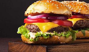 fast food restaurant burger