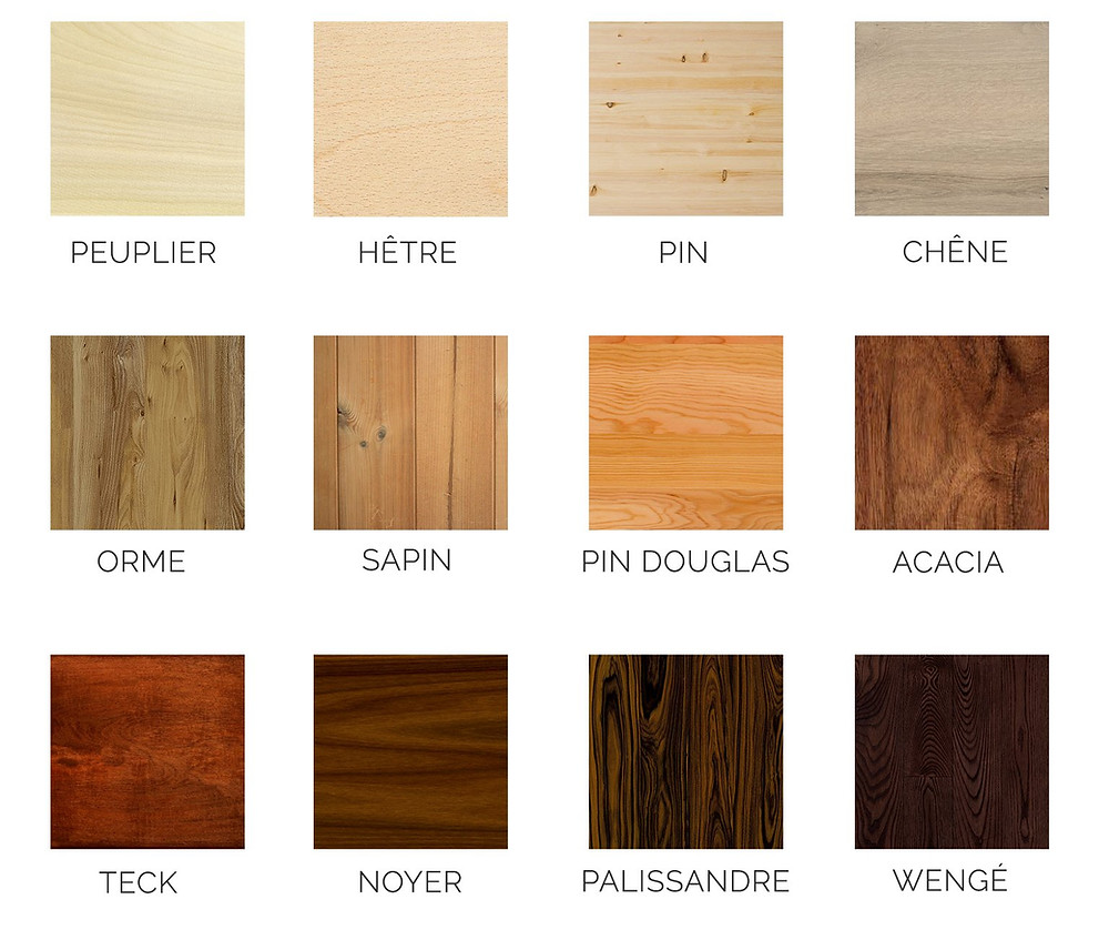 les différentes essences de bois pour table de restaurant