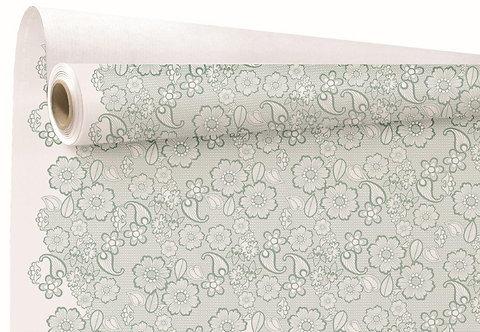 RLX Kraft Broderie celadon 0.79X40M