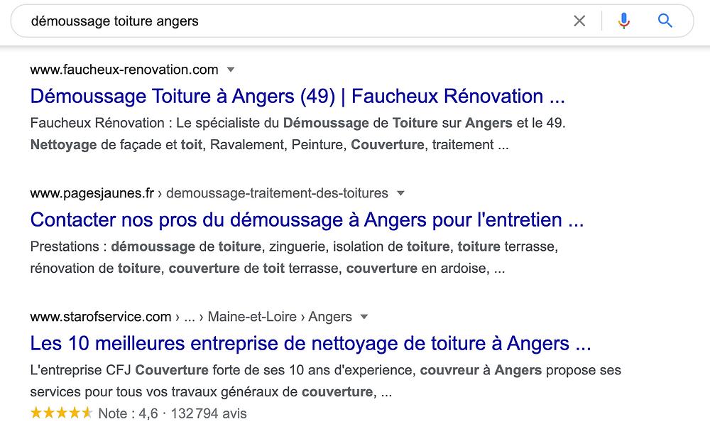site wix en premier sur Google