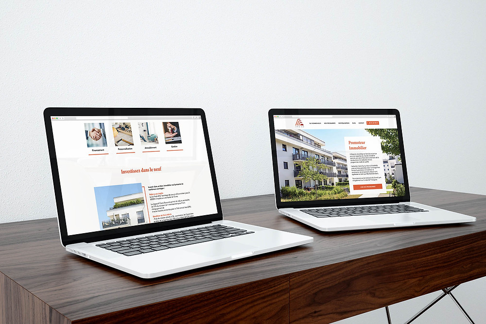 Site Immobilier avec Wix