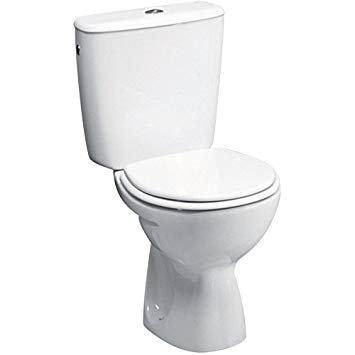 Pack WC PRIMEO 2 blanc Alterna , remplacement sanitaires plombier asnières sur seine