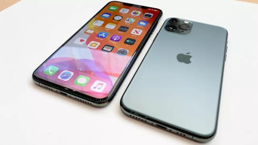 iPhone 11 pro test et réparation de l'écran et batterie