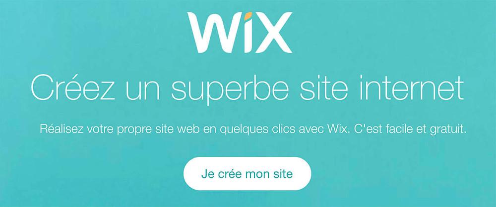 Créer un superbe site Internet avec wix