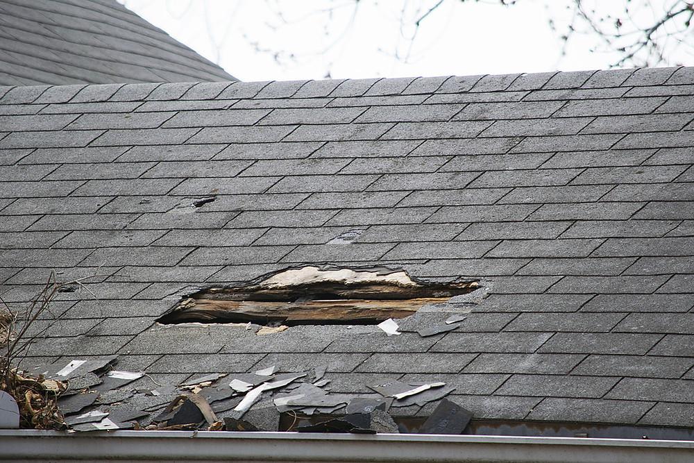 fuite sur toiture