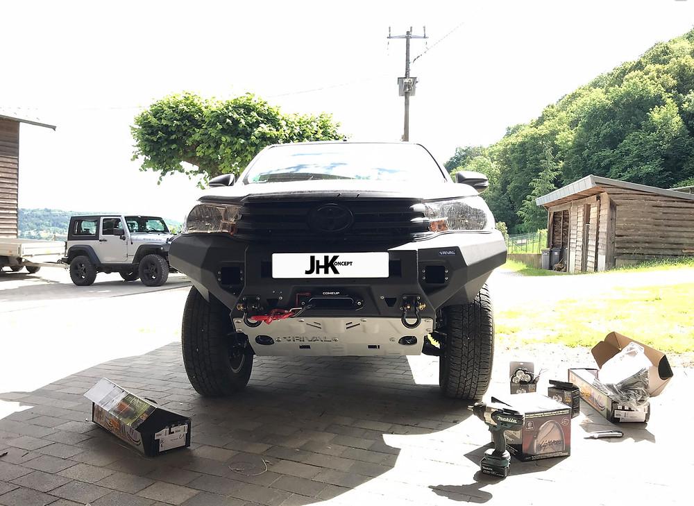 Blindage rival pour 4X4 jeep