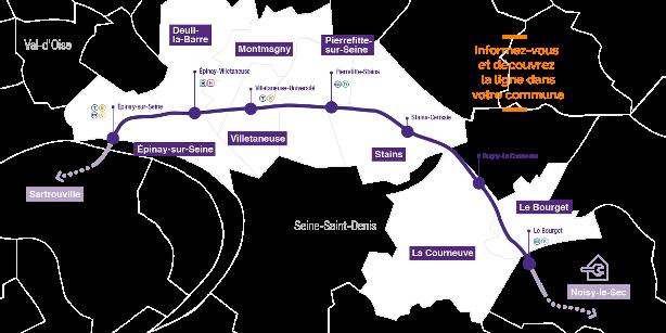itinéraire tram t11 express horaires plan