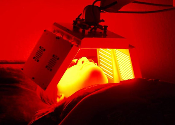 Infrared Light Skin Treatment Therapy