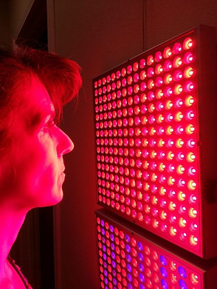 Red Light Panel Collagen Therapy