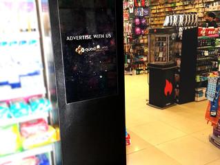 QuadSource introduces digital indoor signage in Islamabad