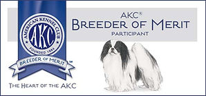 Chin Of Touche' is an AKC Breeder Of Merit.