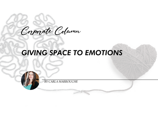 Giving Space to Emotions