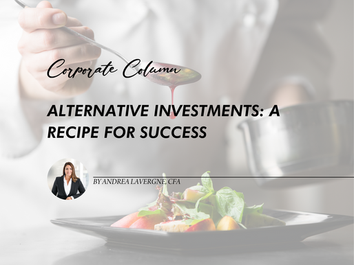 Alternative Investments: A Recipe For Success