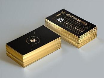 Custom-Gold-Foil-Business-Card-Edge-Gild