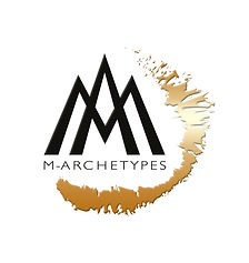 Marchetypes bevel emboss gold and black