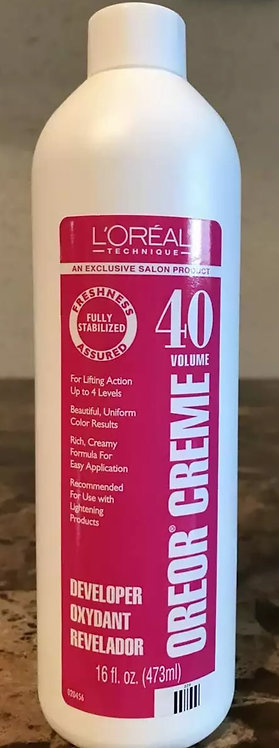 L'OREAL 40 Volume Developer