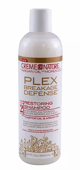 Creme of Nature Plex Restoring Shampoo, 12 oz