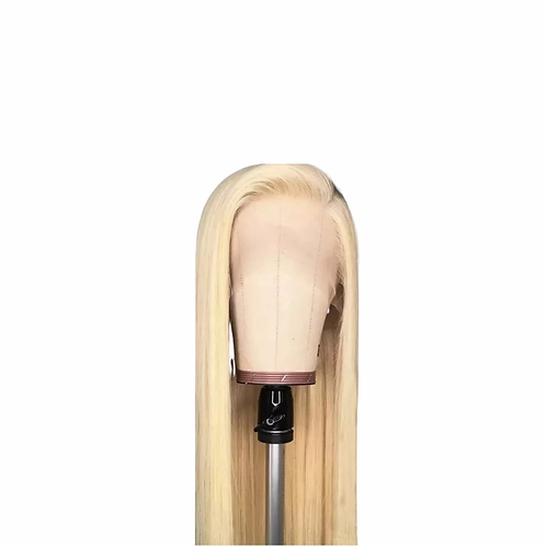 Brazilian Long Blonde Lace Front Wig Straight