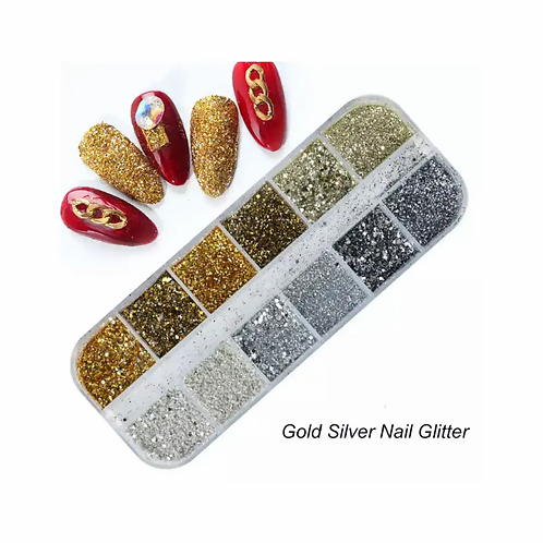 Nail Glitter and Foil Flakes