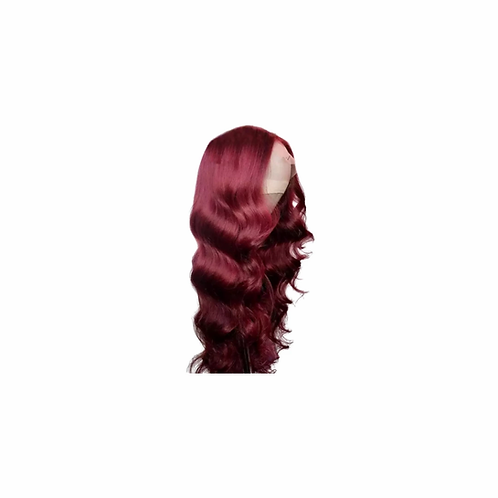 Burgundy Body Wave Lace Front Wig 13x4