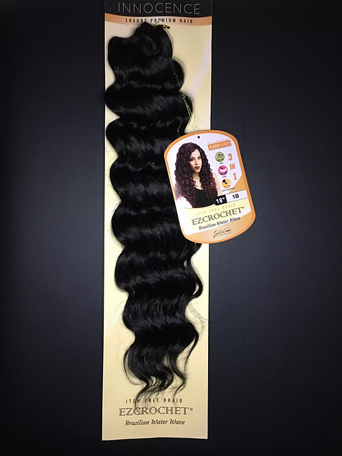 Water Wave Crochet Hair 18""