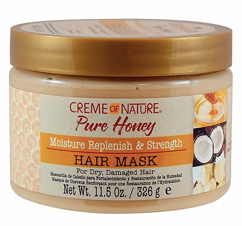 Creme of Nature Deep Hydrating & Strengthening Mask, 11.5 oz