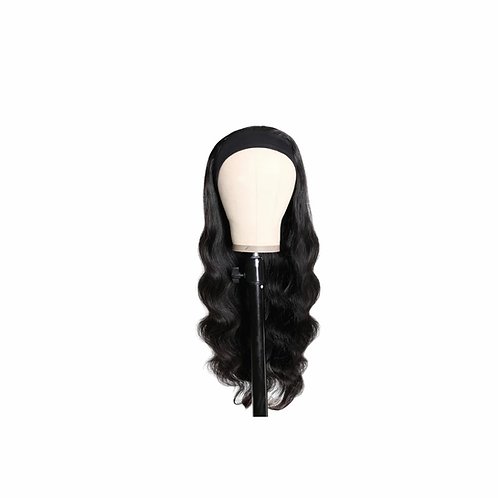 Body Wave Head Band Wig Human Hair