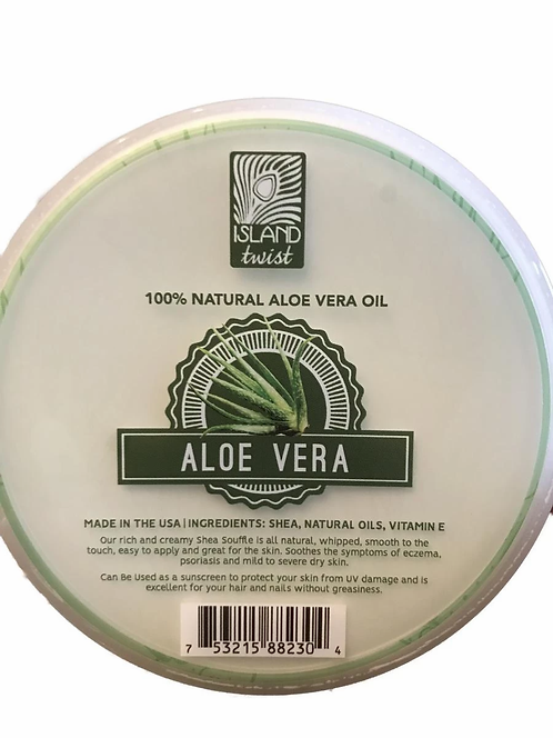 Aloe Vera Shea Butter Souffle Aloe Vera 6.75oz
