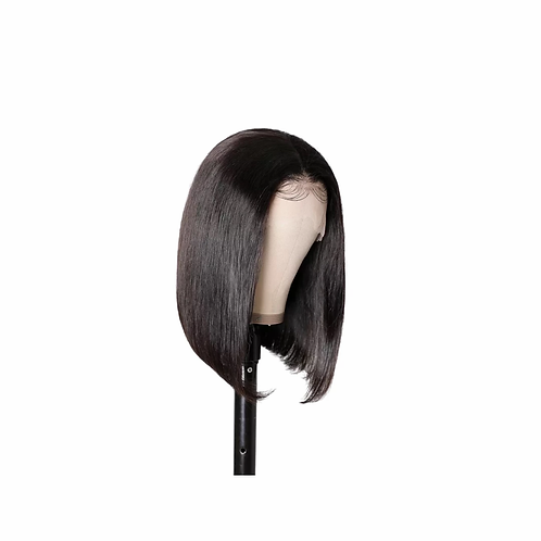 Brazilian Short Bob Wig Straight Lace Front