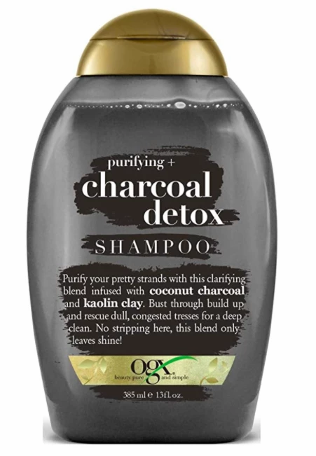 Ogx Shampoo Charcoal Detox 13oz