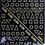 Thumbnail: Vintage Gold Nail Stickers