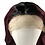 Thumbnail: Synthetic Ombre Wine Red Wig