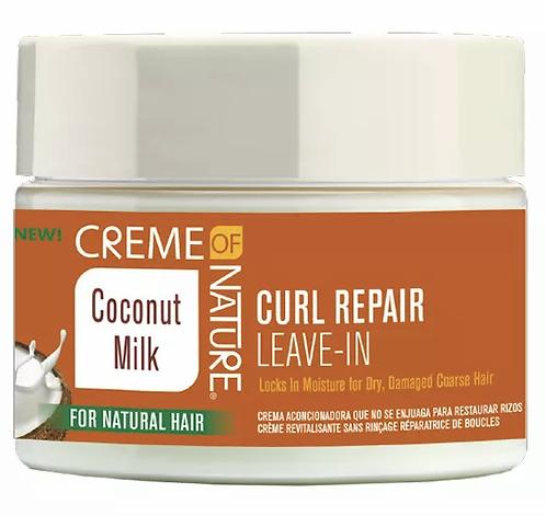 Creme of Nature Coconut Milk Curl Repair Leave-In Conditioning Cream