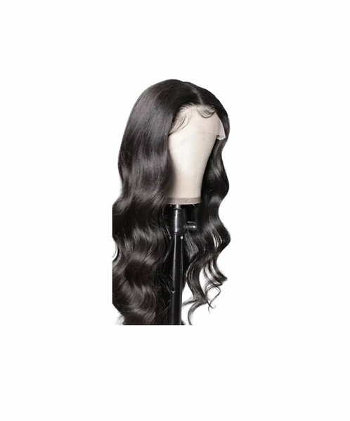 Natural Body Wave Lace Front Wig 13x4