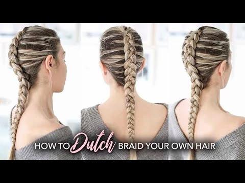 Dutch Braid Hair Style