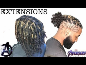 Hair Extension Options For Men: Dreadlock Extensions & Man Weave