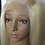 Thumbnail: 613 Blonde Human Full Lace Wig