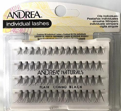 Individual Eyelashes Combo Sizes Black