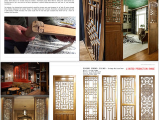 DIVIDERS,SCREENS&CEILINGS -RECLAIMED ANTIQUE DOOR