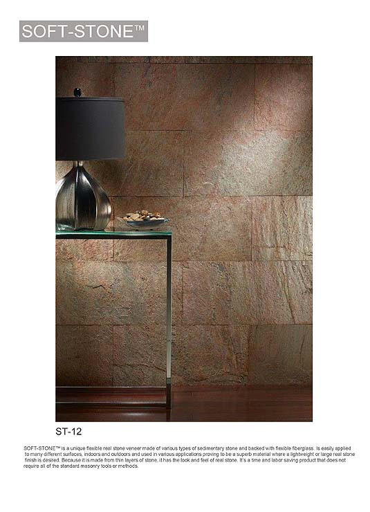 Real stone wall panel