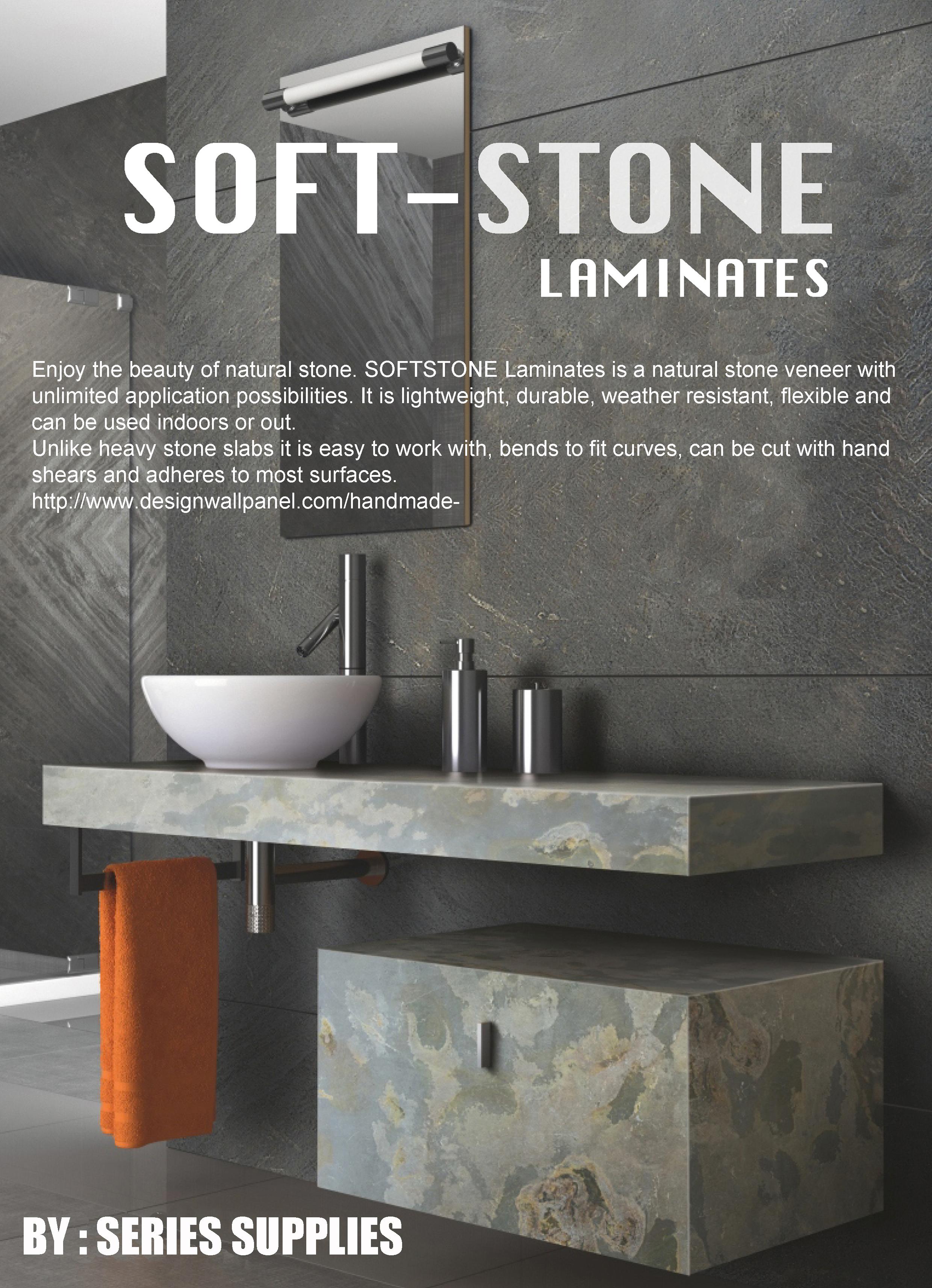 soft stone laminates | interior wall ideas singapore