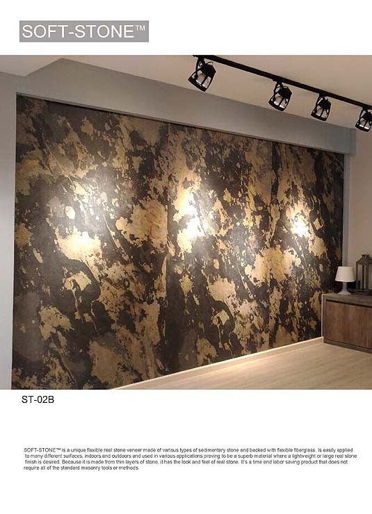 Stone Feature wall in living room